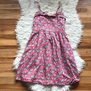 LC Bird Print Dress